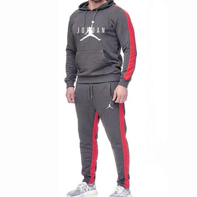 Men's Sets Drop Shipping Hoodies+Pants Harajuku Wholesale Sport Suits Casual Sweatshirts Tracksuit Sportswear
