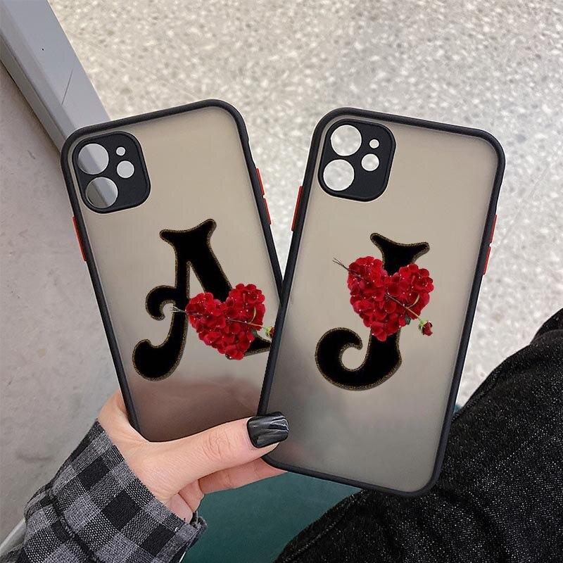 Милый мультяшный чехол для телефона с сердечками и надписью для IPhone 12 XS MAX X 11 Pro XR 7 8 6Plus пара влюбленных BFF мягкий чехол-накладка