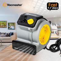 Vacmaster secador de carpete  para casa hotel fluxo de ar banheiro mover três velocidades soprador de chão três graus