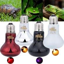 2021 útil pet lâmpada de aquecimento noite amphibian lâmpada 50w uva dia noite anfíbio cobra lâmpada réptil calor lâmpada luz 220v