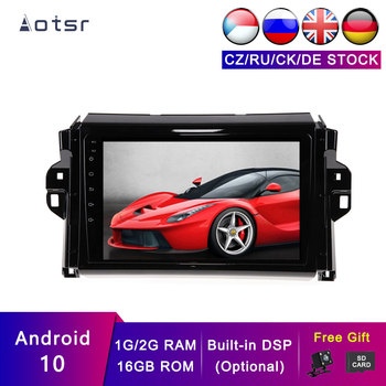 AOTSR Android 10 Car GPS For Toyota Hilux 2015-2018 Car Navigation Auto Accessories Multimedia Player DSP Stereo Head Unit
