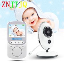 Wireless Video Color Intercom Baby Monitor Portable HD Music Night Vision Temperature Monitoring Baby Nanny Security IR Camera 2 0 color video wireless baby monitor two way talk night vision ir night vision video baby camera with music temperature
