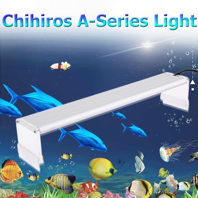 Chihiros סדרת Aquarum הוביל אור דגי טנק Aquatic צמח לגדול תאורה עמיד למים בהיר קליפ על מנורות 20 50cm AC100 240 וולט