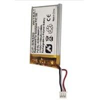 Bateria nova para sennheiser pxc 550 fone de ouvido li-po polímero recarregável substituição 3.7 v 700 mah ahb413645pct 3 linhas + plug