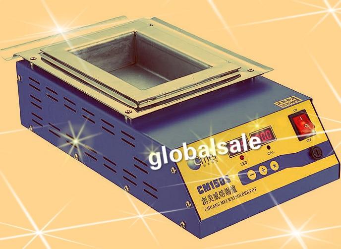 Digital Preheating Station Square Tin Pot Preheat Soldering Solder Pot CM-150s