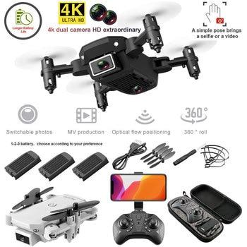 Mini Dron plegable 4K con cámara HD y Wifi. S66, Drone cuadricóptero...