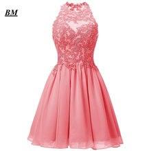 2019 дешевые короткие бледно лиловый Бальные платья Мини со