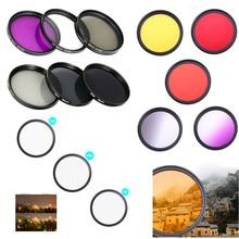 DSLR Camera Lens Filter UV ND FLD Star Colour 37 40.5 43 46 49 52 55 58 62 67 72 77 82 mm for Nikon Canon Sony Fujifim Olympus