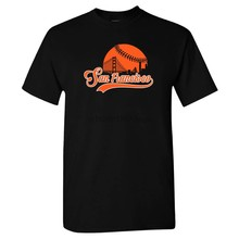 San Francisco Honkbal Skyline Shirt(China)