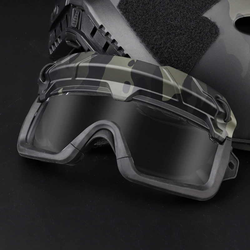(Tactical Military)Airsoft Hunting Goggles Shooting Glasses Windproof Wargame Goggles Helmet Eyewear Paintball Eye Protection