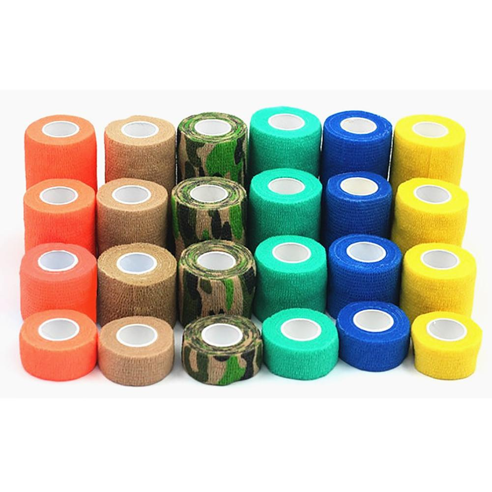 Outdoor Medical Bandage First Aid Kit Colorful font b Pet b font Cohesive Self Adherent Elastic