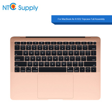 NTC Supply For MacBook Air A1932 2018 Year Gold Topcase Full Assembly topcase keyboard battery speaker fan with cable and more