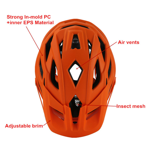 Cairbull ciclismo capacete trilha xc bicicleta capacete in-mold mtb bicicleta capacete casco ciclismo estrada montanha capacetes de segurança boné 55-61cm 2