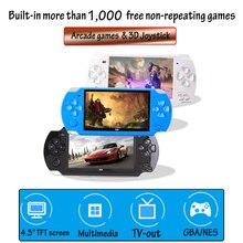 10,000 משחקי 4.3 אינץ TFT מסך 8G וידאו קונסולת משחקי נגן עבור PSP רטרו משחק כף יד תמיכה Mp4 נגן מצלמה וידאו ספר אלקטרוני