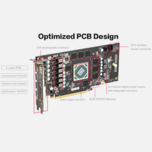 RX 580 RX580 2048SP 4G D5 GAEA Graphics Card