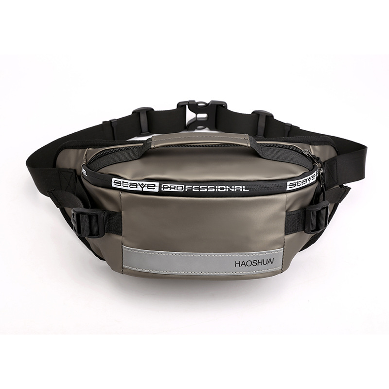 Men's Handbag Belt Bag Practical Bicycle Belt Bag Travel Bag Hip Wallet Mobile Phone Pocket Sports Bag NEW