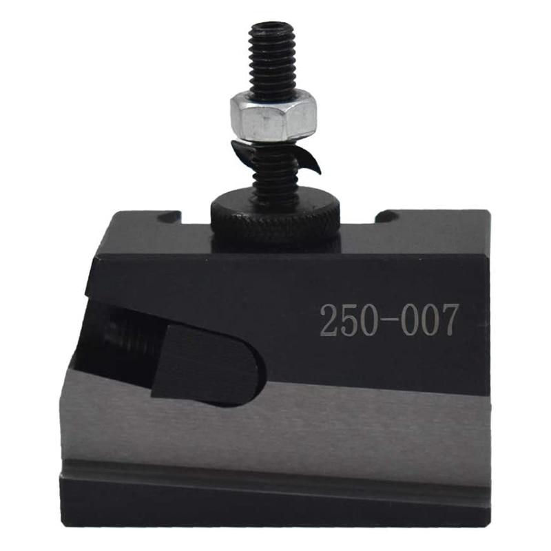 HLZS-250-007 CNC Lathe Tool Holder Quick Change Tool Post Cutter Holder Screw Kit Set Boring Bar Turning Facing Holder