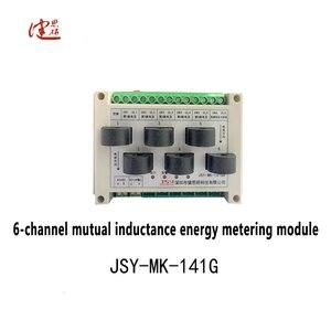 JSY MK-141G 6 Channel Metering Tester wattmeter RF Voltage voltmeter Current Tester measuring module multimetro Tool OEM/ODM(China)