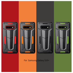 Image 1 - Funda protectora Nillkin, carcasa protectora para teléfono de capas, carcasa trasera para Samsung Galaxy S10 Plus S9 S8 Plus Note 9/8/Note FE Hybrid