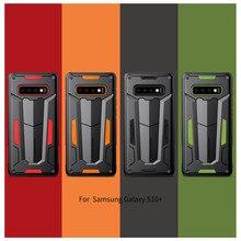 Nillkin Defender Case Ⅱ 레이어 삼성 갤럭시 S10 Plus S9 S8 Plus Note 9/8/Note FE 하이브리드 용 전화 보호 커버 백 쉘