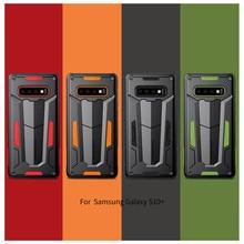 Nillkin Defender Fall Ⅱ Schichten Telefon Schutzhülle Zurück Shell Für Samsung Galaxy S10 Plus S9 S8 Plus Hinweis 9/8/hinweis FE Hybrid