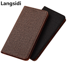 Business PU leather flip phone cover bag for Meizu Note 9 Meizu Note 8 phone case for Meizu 16S Meizu 16X Meizu 16Xs phone cover cheap NEW CEED Flip Case Flip case with kickstand Plain Dirt-resistant Anti-knock Microfiber