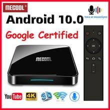 Mecool KM3 KM9プロアンドロイド10テレビボックスgoogle認定スマートテレビボックスアンドロイド9.0 S905X2 USB3.0 2.4グラム/5グラムwifi 4 18kメディアプレーヤーtvbox
