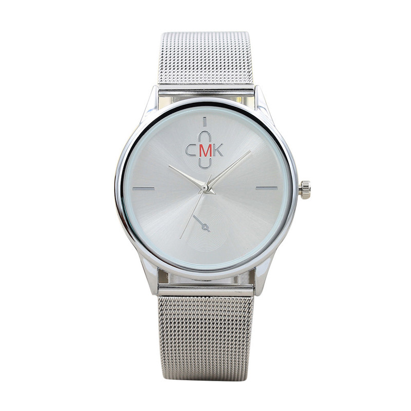 CMK New Contracted Steel Mesh Belt Watch Female New Speed Sell Through Amazon Sales Lady Watch Spot Manufacturers
