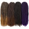 YxCherishair Marley синтетические накладные пряди, накладные пряди, косички, Омбре