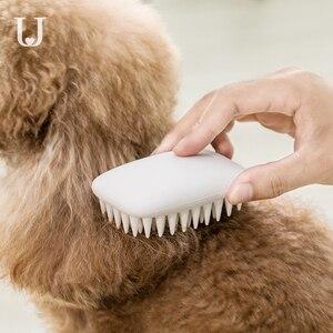 Image 1 - Youpin JORDAN & JUDY สัตว์เลี้ยงสุนัขซิลิโคนหวีผมแปรงเรียบพื้นผิวทำความสะอาดง่ายจาก Youpin