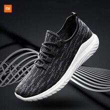 Xiaomi Mijia Youpin Новая мужская обувь, летающие тканые кроссовки, трендовая повседневная обувь, мужская обувь для фитнеса, бега, упражнений