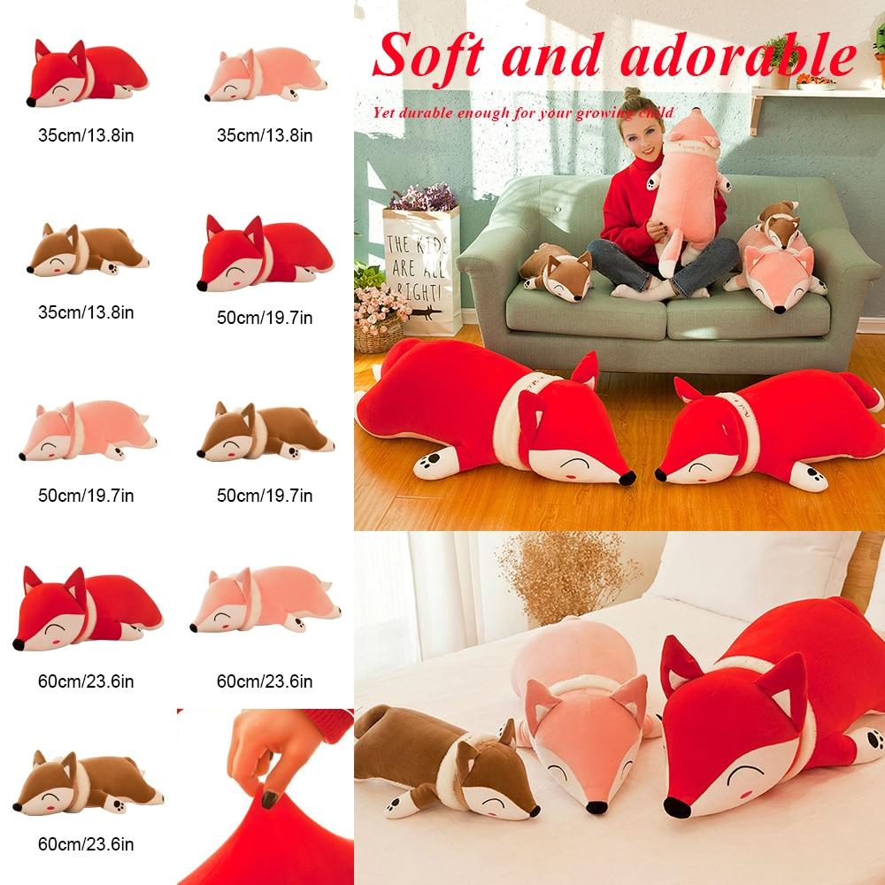 Children Birthday Gift for Girls Boys Plush Pillow Stuffed Cartoon Soft Toy Doll Cute Dolls Stuffed Animal Plush Toys 35/50/60cm