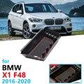 Автомобильный Органайзер, аксессуары для BMW X1 F48 2016 2017 2018 2019 2020, подлокотник, ящик для хранения, подставка X1M Power LHD, только монета
