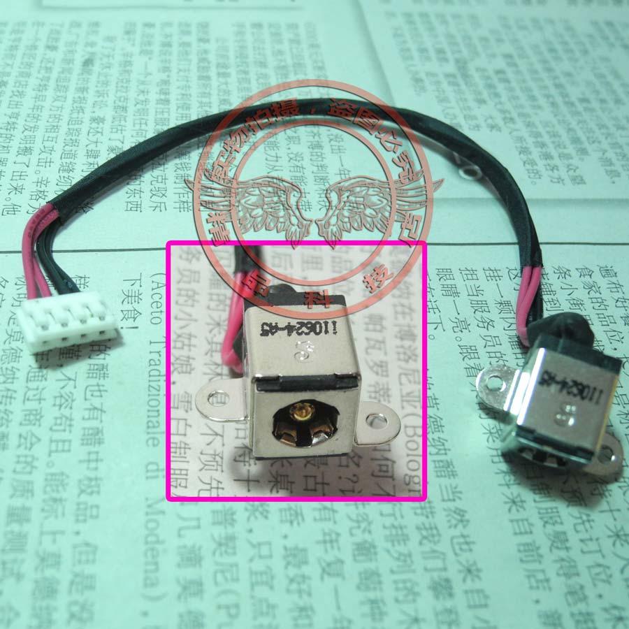 New Power Jack Cable For Asus N55 N55S N55SF N55SL U43F UL80J N82JV N73SV N73SL N82JC Charging DC-IN Harness Flex