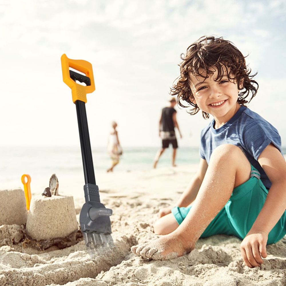 55CM Robot Telescopic Claw Hand Grabber Grabbing Stick Kid Boy Toy Hand Wrist Strengthen DIY Robot Grab Toy Kid Action Toy Parts