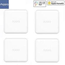 Aqara المكعب السحري تحكم زيجبي النسخة يسيطر عليها ستة الإجراءات ل الذكية جهاز منزلي التلفزيون مأخذ (فيشة) ذكي ل mi المنزل التطبيق