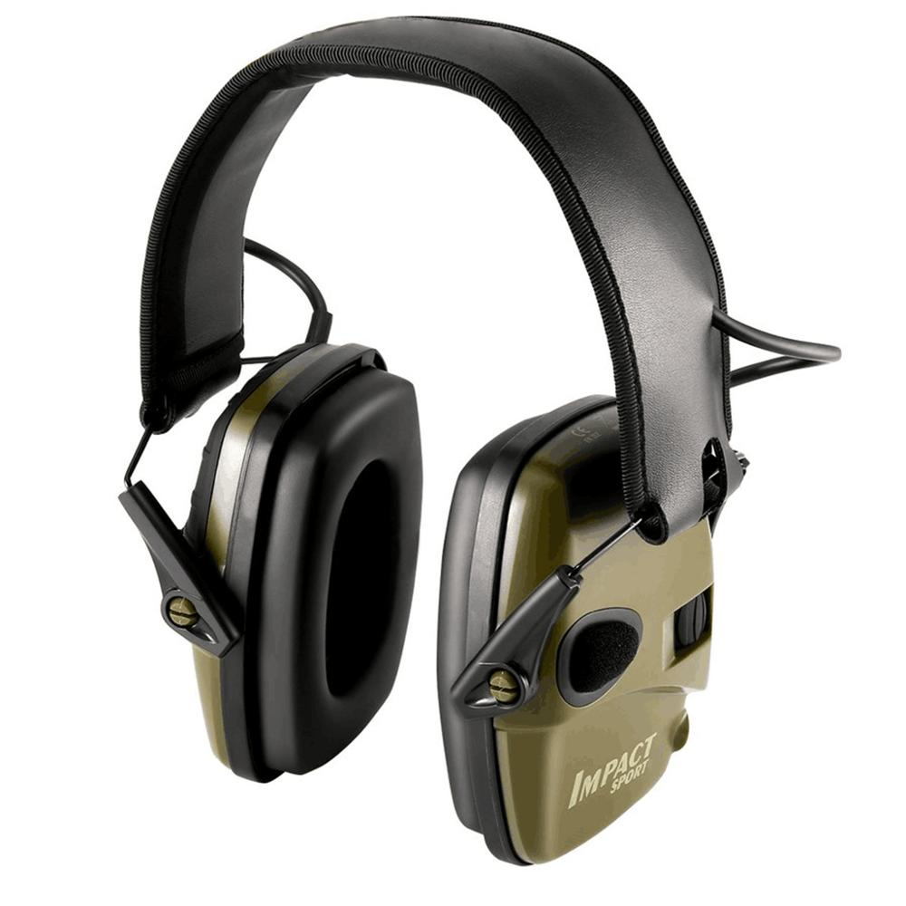 Tactical Electronic Shooting Earmuff Anti-noise Headphone Impact Sound Amplification Hearing Protection Headset Foldable