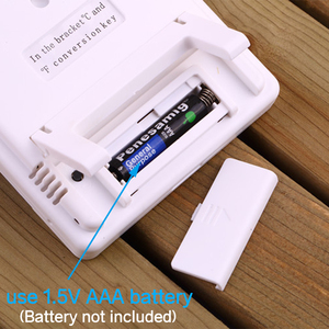 ЖК дисплей электронные цифровые Температура измеритель влажности термометром и гигрометром декоративные часы для дома и улицы часы/Погодная станция с HTC 1 HTC 2 Приборы для измерения температуры      АлиЭкспресс