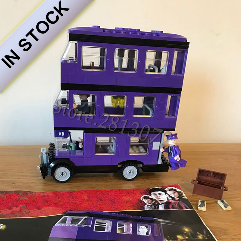 In Stock 75957 The Knight Bus 11342 Potter Movie Serices 403Pcs Model Building Blocks Bricks Toys Bela