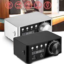 50Wx2 HiFi Bluetooth 5.0 Mini Class D Digital Power Amplifier Audio Stereo Receiver Car Home Theater USB U-Disk TF Card
