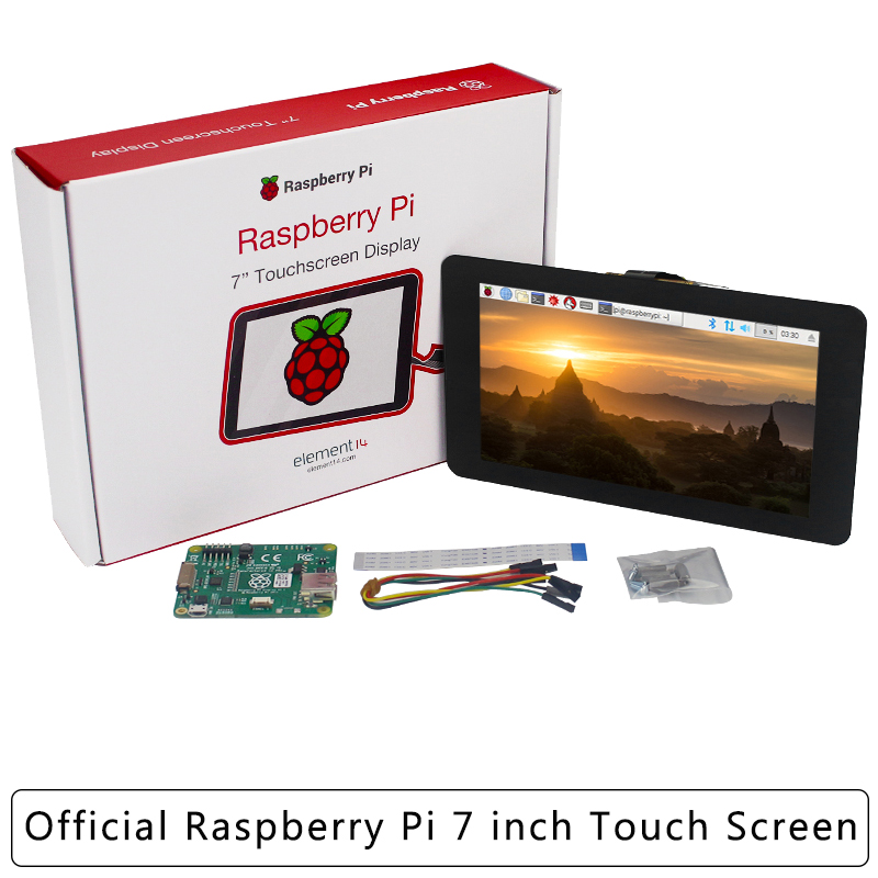 Raspberry Pi Official Display 7 Inch Touchscreen 10-point Capacitive Touch Monitor For Raspberry Pi 4 Model B / 3B+/3A+/Zero