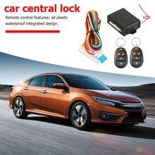 Kit de bloqueo de cerradura Central remota para coche, sistema de alarma de entrada clásico sin llave 410/T123, suministros de accesorios para coche