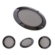 4inch Speaker Decorative Circle SubWoofer Grill Cover Guard Protector Mesh, Pack of 4(China)