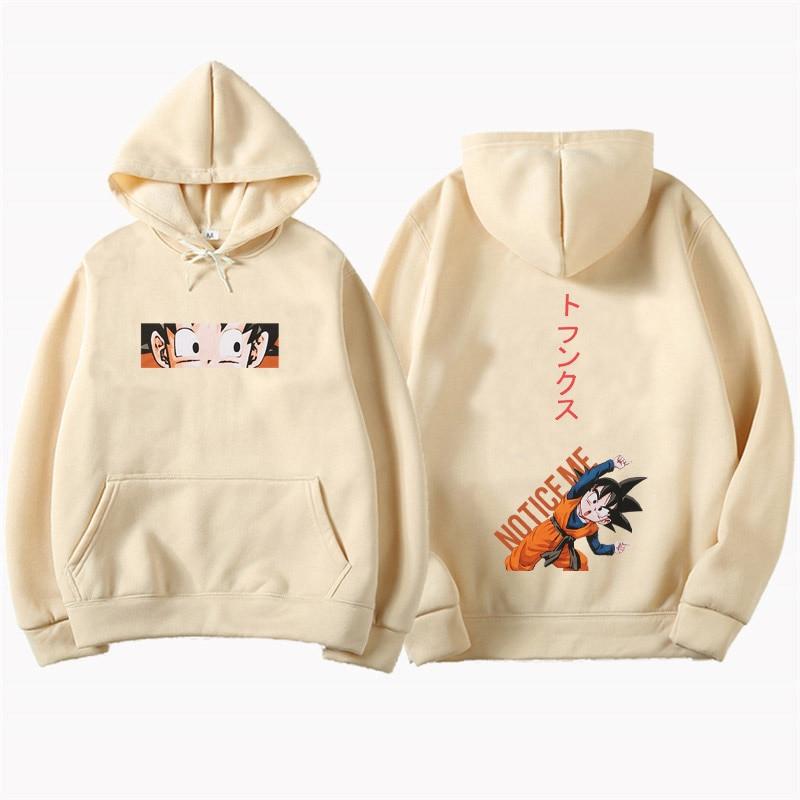 Anime Dragon Ball Hoodies Men Sweatshirts 2019 Autumn Thin section Sweatshirt Fashion Hipster Sport Tracksuit Male Hoody