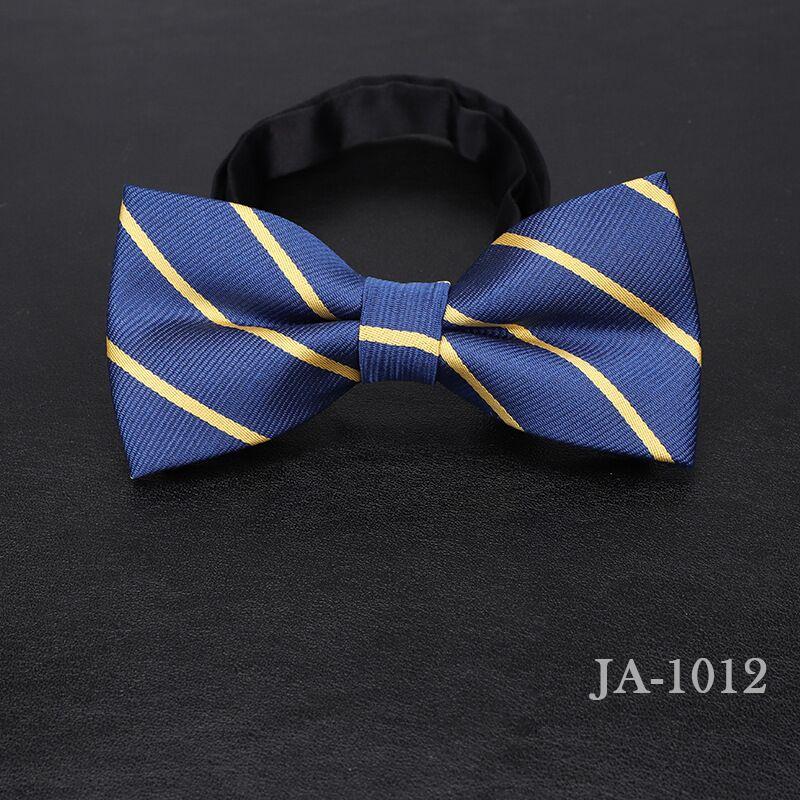 Дизайнерский галстук-бабочка, высокое качество, мода, мужская рубашка, аксессуары, темно-синий, в горошек, галстук-бабочка для свадьбы, для мужчин,, вечерние, деловые, официальные - Цвет: 1012