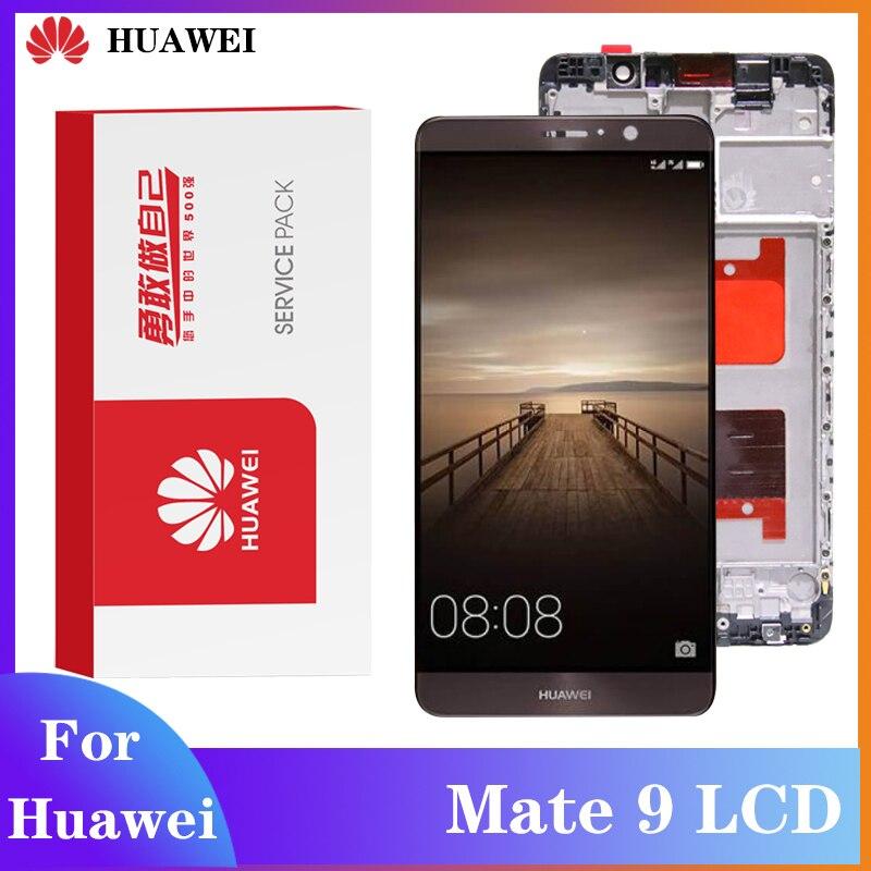 Оригинальный ЖК-дисплей для Huawei Mate 9, дигитайзер в сборе, сенсорный дисплей, применяется к Mate 9, дисплей для телефона AL09 AL00