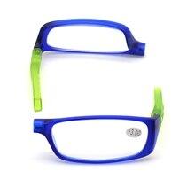 2019 Colorful Upgraded Magnet Reading Glasses Men Women Adjustable Hanging Magnetic presbyopic glasses Unisex Magnifier Eyewear