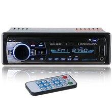 12 В автомобильный стерео fm-радио mp3-плеер аудио Поддержка Bluetooth телефон с Usb/Sd Mmc портом Автомобильная электроника Встроенный 1 Din