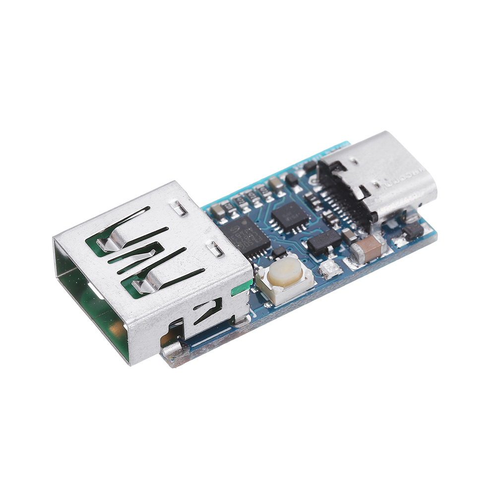 1PCS PD DC Decoy Detection PD2.0 3.0 Fast Charging Board Trigger Module QC4 + Polling HID Programming Module