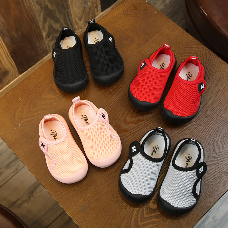 2019 Spring Infant Toddler Shoes Baby Girls Boys Casual Shoes Soft Bottom Non-slip Breathable Kids Children Mesh Shoes